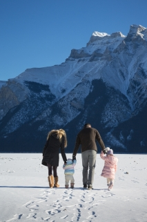 Banff area family photo shoot