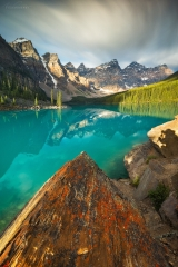 Summer at Moraine Lake, Banff National Park, AB, Canada